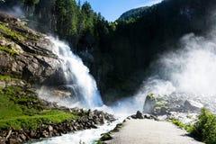Krimml Waterfalls Royalty Free Stock Image