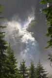 Krimmldalingen van Hoog Tauern-Park, Oostenrijk Royalty-vrije Stock Fotografie