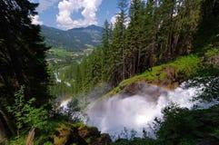 Krimmler (Krimml) waterfall Stock Images