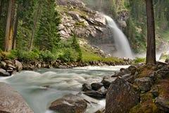Krimmler waterfall Stock Photos