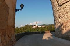 Kringa在Istria 免版税库存照片