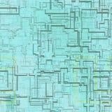 Kringen abstracte naadloze geproduceerde textuur royalty-vrije illustratie