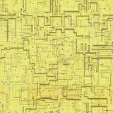 Kringen abstracte naadloze geproduceerde textuur vector illustratie