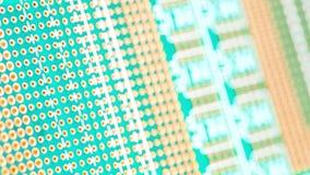 Krings groene raad De technologie van de elektronische computerhardware Motherboard digitale spaander stock foto's