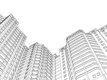 Kringshuis vector illustratie