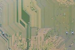 Kringsraad op computer wordt geïntegreerd die stock afbeeldingen