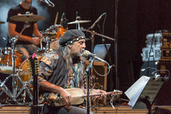 Kriol Jazz Festival on April 12, 2013 Stock Images