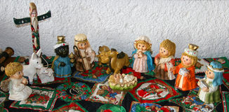 Krippe von Bethlehem Stockbild