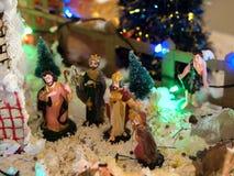 KRIPPE VON JESUS stockfoto