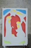 Krippenbelichtung Postua Vc Italien Lizenzfreies Stockbild