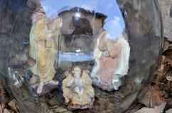 Krippenbelichtung Postua Vc Italien Stockbild