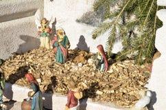 Krippenbelichtung Postua Vc Italien stockbilder