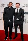 Kris Bowers en Graham Clark Stock Foto