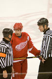 Kris Draper Talks To The Officials Stock Photos