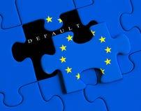 Kris för europeisk union Royaltyfri Bild