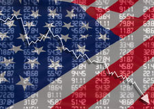 Kris i USA Arkivbilder