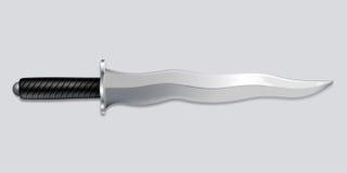 Kris kindżału nóż - wektorowa sztuka ilustracja wektor