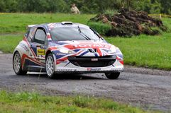 Kris Meeke Photographie stock