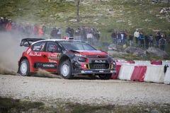 Kris Meeke, Citroën C3 WRC Royalty-vrije Stock Afbeeldingen