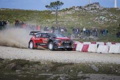 Kris Meeke, Citroen C3 WRC Obraz Stock