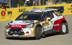 Kris Meeke and Paul Nagle of Great Britain Royalty Free Stock Photo