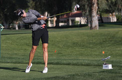 Kris Tamulis en el torneo 2015 del golf de la inspiración de la ANECDOTARIO foto de archivo libre de regalías
