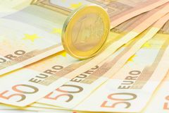 Krise des europäischen Geschäfts Stockbilder