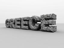 Krise in Griechenland. Lizenzfreie Stockfotografie