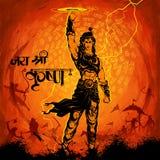 Лорд Krishana в счастливом Janmashtami Стоковое фото RF