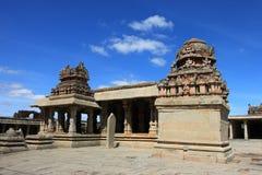 Krishna寺庙, Hampi 免版税图库摄影