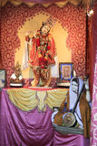 Krishna και θιασώτης Meera στοκ φωτογραφία