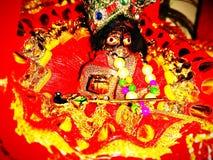 Krishna ο τελευταίος Θεός στοκ εικόνα