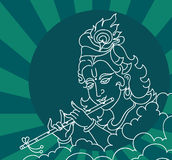 Krishna 002 Stock Afbeeldingen