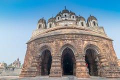 Krishna Chandra-Tempel von Kalna, Westbengalen, Indien lizenzfreie stockbilder