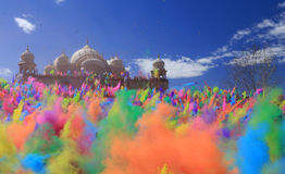 Krishna Color Festival. Royalty Free Stock Images