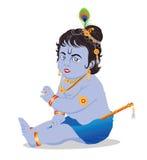 Krishna del bambino Immagini Stock Libere da Diritti
