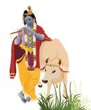 Krishna del señor stock de ilustración