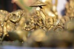 Krishna e Arjuna dal mahabharata Fotografia Stock