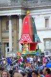 Krishna festiwal Londyn Obrazy Royalty Free