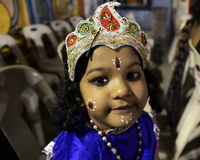 Krishna Go καθώς συμπαθείτε Στοκ Εικόνα