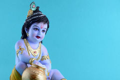 krishna hinduskiego boga obraz royalty free