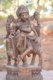 Krishna indù di Dio-signore Immagini Stock