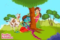 Krishna Janmashtami background Royalty Free Stock Image