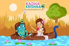 Krishna Janmashtami background Stock Photo