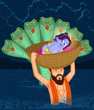 Krishna Janmashtami Stock Photography