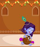 Krishna Janmashtami Royalty Free Stock Photos