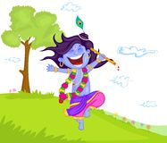 Krishna Janmashtami Royalty Free Stock Photography
