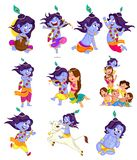 Krishna Janmashtami Royalty Free Stock Photo