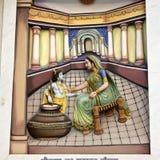 Krishna-Lila στοκ εικόνα