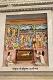 Krishna-Lila Royalty-vrije Stock Foto's
